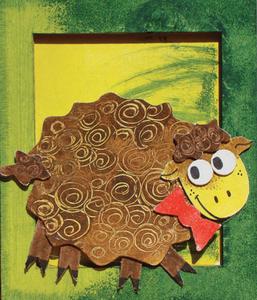 Obrázok Rám malý Ovečka