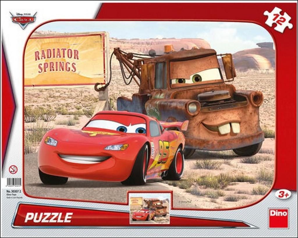 Puzzle Cars Blesk & Burák