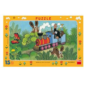 Obrázok Puzzle Krtek a lokomotiva