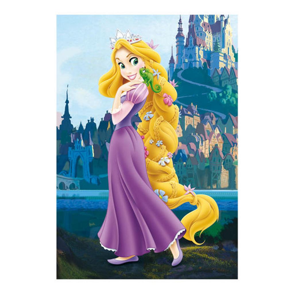 Puzzle Walt Disney: Princezna na vlásku