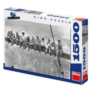 Obrázok Puzzle Dělníci na traverze