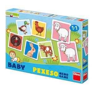 Obrázok Baby pexeso Domácí zvířátka