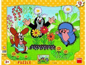 Obrázok Puzzle Krtek zahradníkem