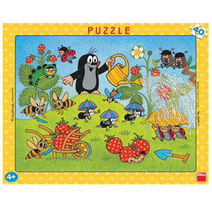 Obrázok Puzzle Krtek v jahodách