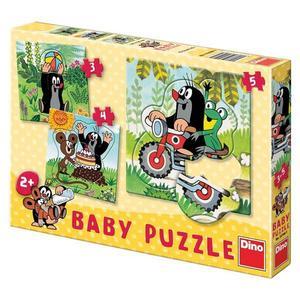 Obrázok Baby puzzle Krtek na louce