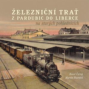 Obrázok Železniční trať zPardubic do Liberce na starých pohlednicích