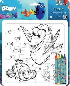 Obrázok Hledá se Dory Omalovánkové puzzle