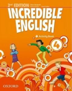 Obrázok Incredible English 2nd Edition 4 Activity Book