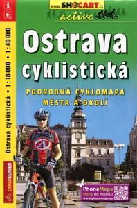Ostrava cyklistická 1:18 000