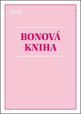 Obrázok Bonová kniha A4