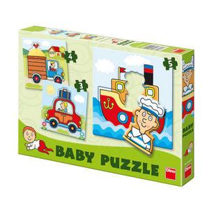 Obrázok Baby puzzle Dopravní prostředky