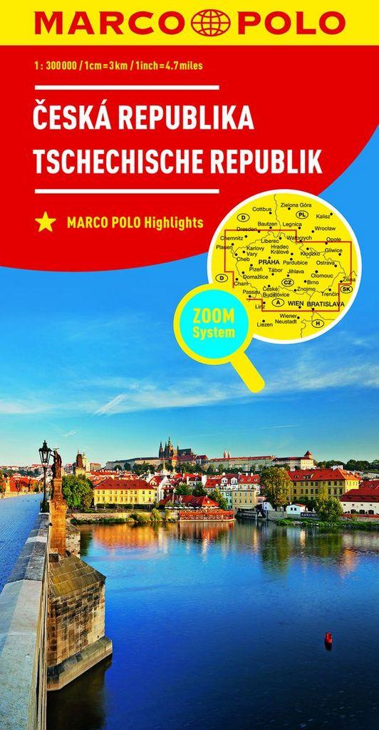 Česká Republika Tschechische Republik 1:800 000