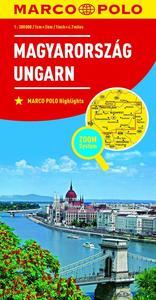 Obrázok Maďarsko Magyarország Ungarn 1:300 000