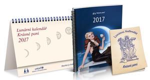 Obrázok Lunární kalendář Krásné paní 2017