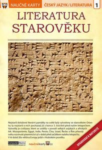 Obrázok Naučné karty Literatura starověku (Opakování k maturitě)