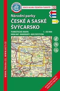Obrázok KČT 12 Národní parky České a Saské Švýcarsko 1:50 000