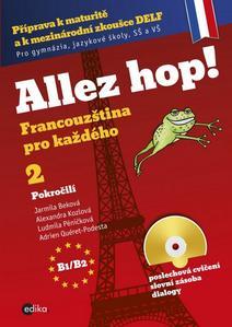 Obrázok Allez hop! 2 + CD (B1/B2)