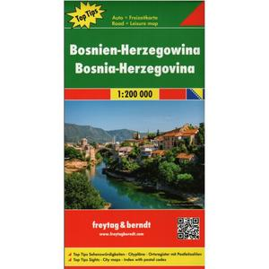 Obrázok Automapa Bosna a Hercegovina 1 : 200 000