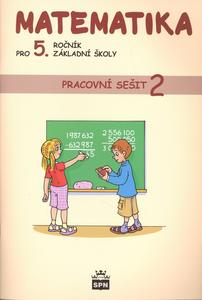 Obrázok Matematika pro 5. ročník základní školy Pracovní sešit 2