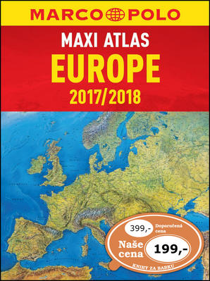 Obrázok MAXI ATLAS Evropa 2017/2018 1:750 000