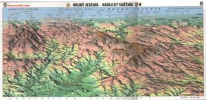 Obrázok Panoramatická mapa Hrubý Jeseník