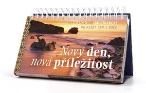 Obrázok Nový den, nová příležitost - stolní kalendář