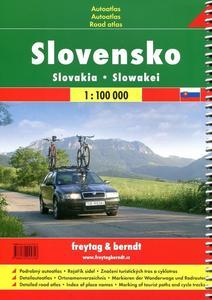 Obrázok Autoatlas Slovensko 1 : 100 000 turistický