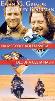 Obrázok Balíček 2ks Na motorce kolem světa + Dlouhá cesta na jih
