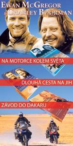 Obrázok Balíček 3ks Na motorce kolem světa + Dlouhá cesta na jih + Závod do Dakaru