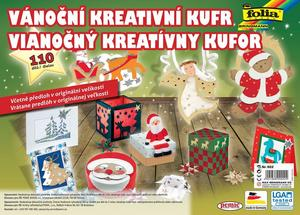 Obrázok Vánoční kreativní kufr