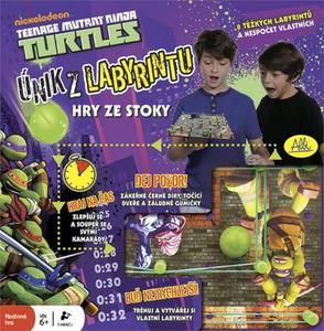 Obrázok Želvy Ninja Únik z labyrintu