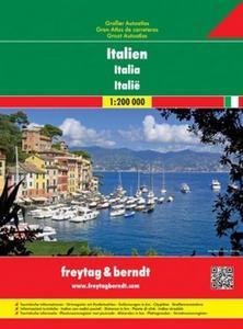 Obrázok Autoatlas Itálie 1:200 000