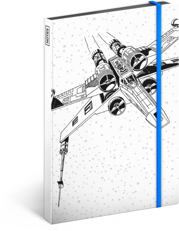 Star Wars X-Wing notes nelinkovaný