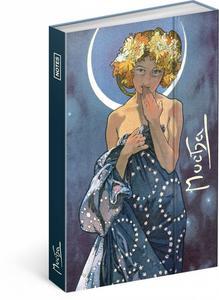 Obrázok Notes Alfons Mucha Luna linkovaný