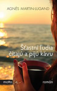 Obrázok Šťastní ľudia čítajú a pijú kávu