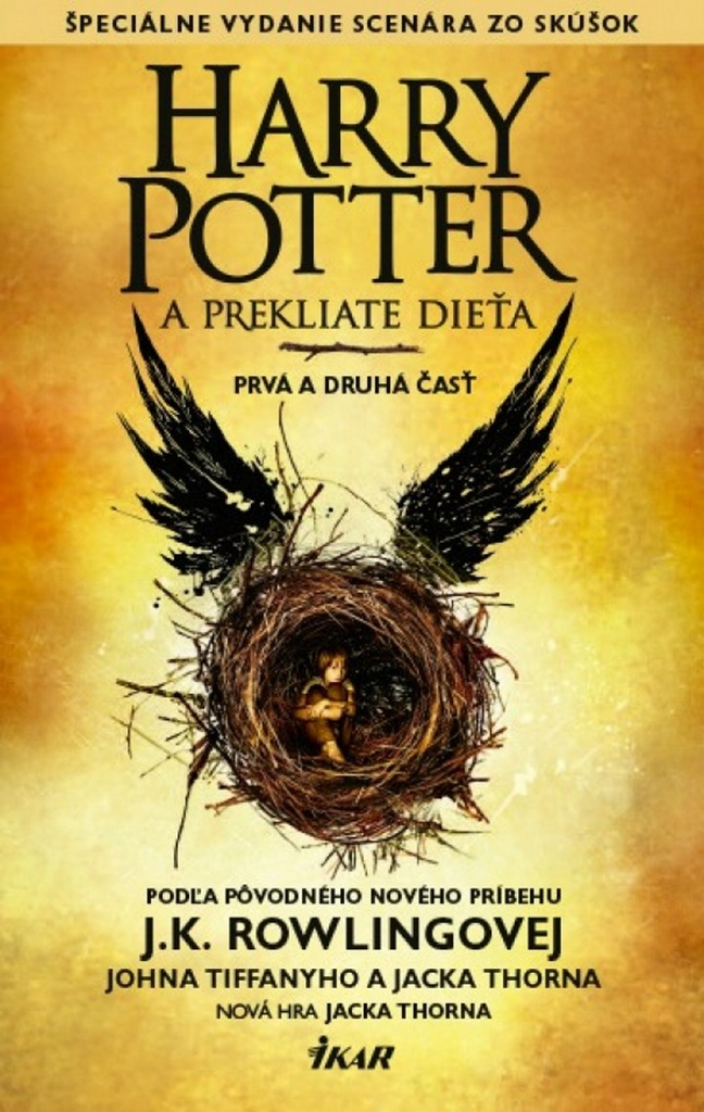 Harry Potter a prekliate dieťa - Jack Thorne, Joanne K. Rowlingová, John Tifanny