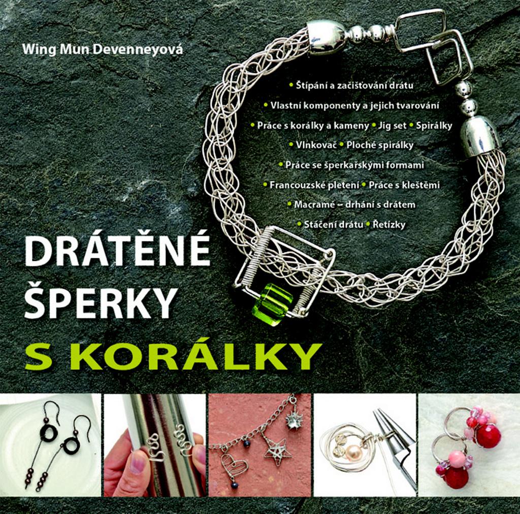 Drátěné šperky s korálky - Wing Mun Devenneyová