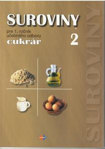 Obrázok Suroviny pre 1. ročník učebného odboru cukrár II.časť