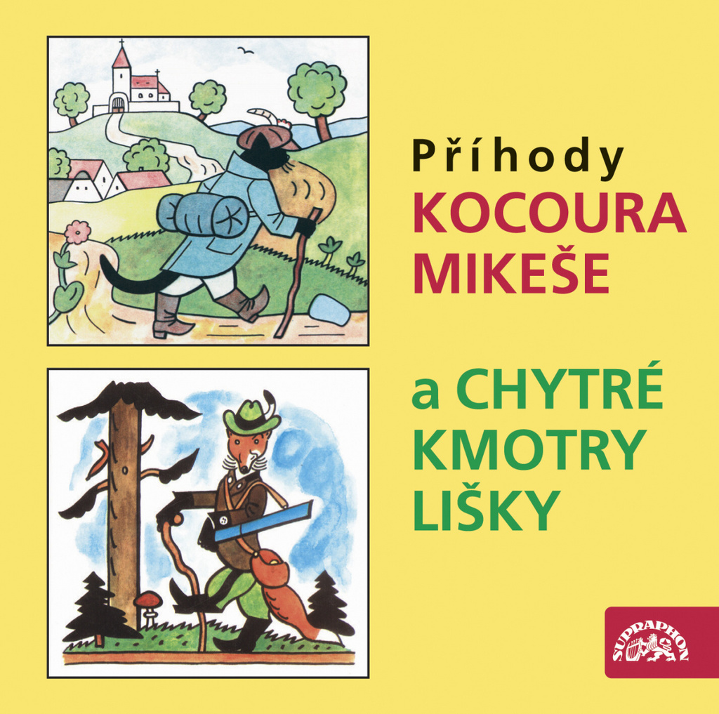 O kocourovi Mikešovi a Chytré kmotry lišky - Josef Lada