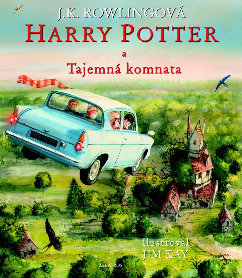 Harry Potter a Tajemná komnata (2. díl, Ilustrované vydání) - Joanne K. Rowlingová