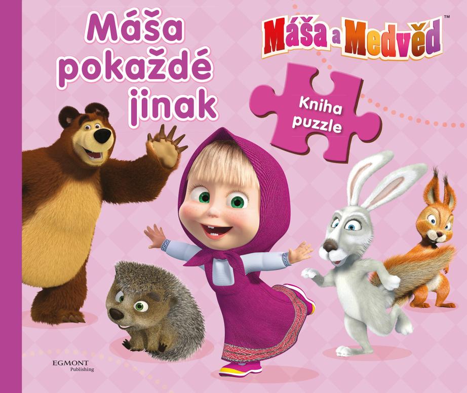 Máša a Medvěd Máša pokaždé jinak