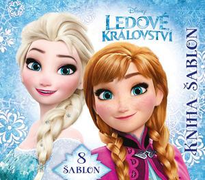 Obrázok Ledové království Kniha šablon
