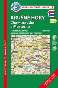 Obrázok KČT  5 Krušné Hory, Chomutovsko a Mostecko 1:50 000