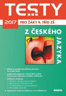 Testy 2017 z českého jazyka pro žáky 9. tříd ZŠ