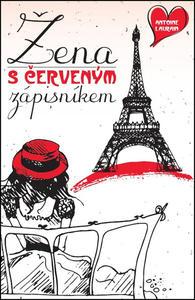 Obrázok Žena s červeným zápisníkem