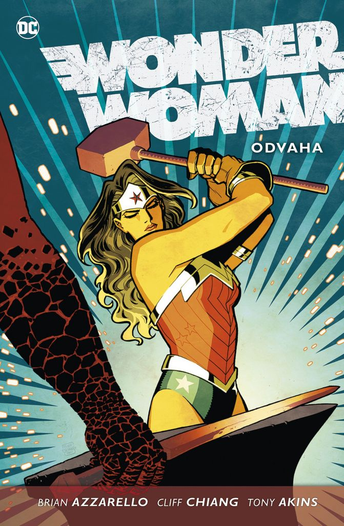 Wonder Woman Odvaha - Tony Akins, Cliff Chiang, Brian Azzarello