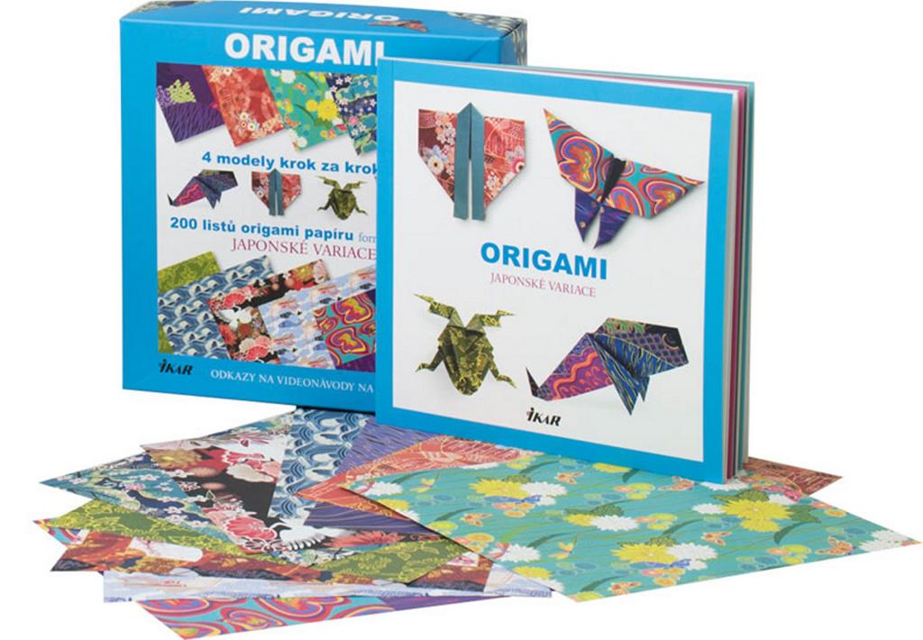 Origami Japonské variace - Vanda Battaglia, Francesco Decio