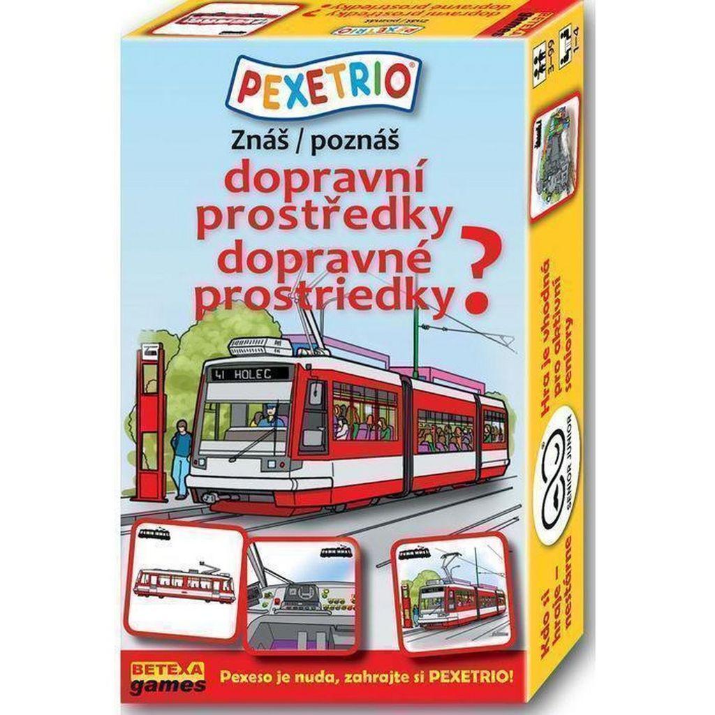 Pexetrio Znáš dopravní prostředky?