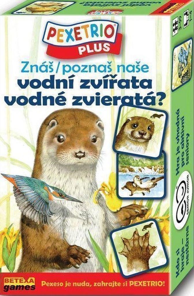 Pexetrio Plus Znáš vodní zvířata?