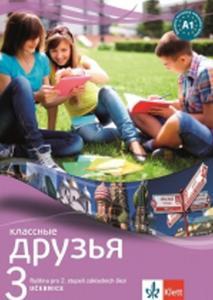 Obrázok Klassnyje Druzja 3 Ruština učebnice